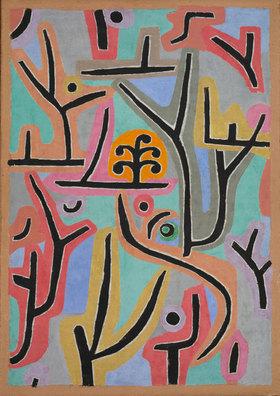 Paul Klee: Park bei Lu. 1938, 129 (J 9)