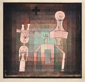 Paul Klee: Stillleben mit Plastiken