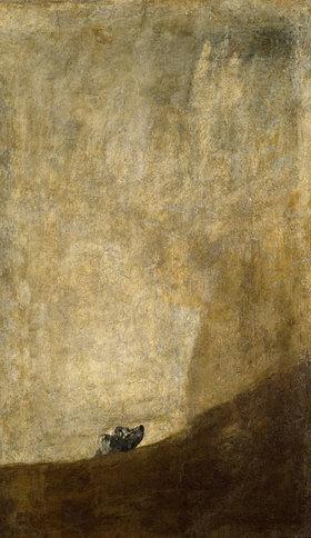 Francisco José de Goya: Der Hund