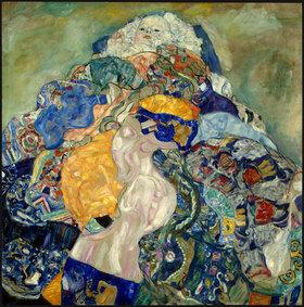 Gustav Klimt: Baby (Wiege)
