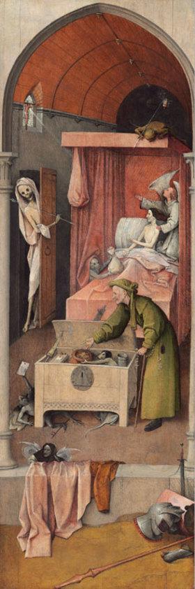 Hieronymus Bosch: Der Tod und der Geizhals