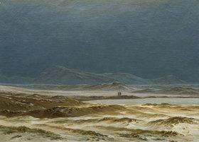 Caspar David Friedrich: Nordische Landschaft im Frühling