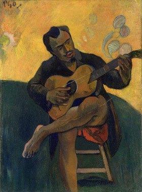 Paul Gauguin: Gitarrenspieler