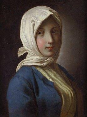 Pietro Antonio Rotari: Bildnis eines Mädchens mit Kopftuch