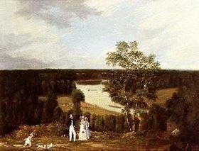 Thomas Christopher Hofland: Blick vom Richmond Hill auf die Themse