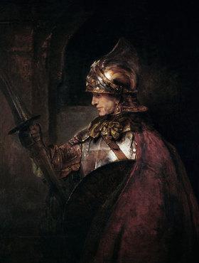 Rembrandt van Rijn: Ein Mann in Rüstung