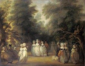 George Frost: Damen bei der Promenade im St.James's Park London