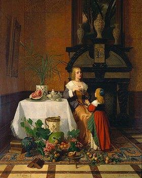 David Emile Joseph de Noter: Teestunde. (Zusammen mit Gustav Koller)