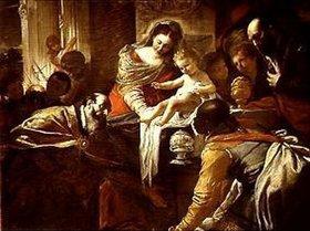 Mattia Preti: Die Anbetung der Könige