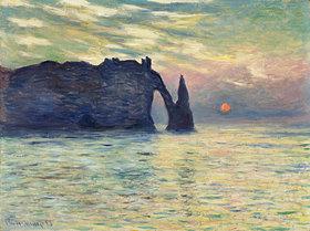 Claude Monet: Felsen bei Étretat