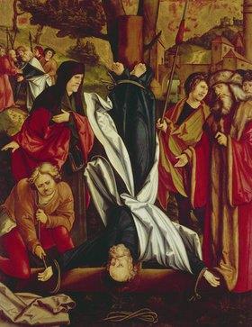 Hans Schäufelein: Die Kreuzigung Petri. Christgartner Altar