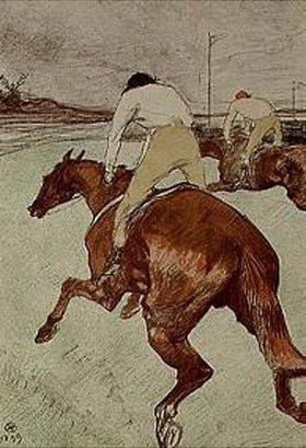 Henri de Toulouse-Lautrec: Der Jockey