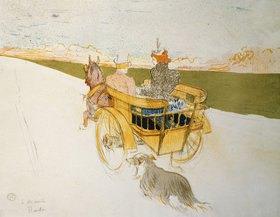 Henri de Toulouse-Lautrec: Ausfahrt im Einspänner