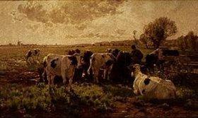 Hermann Baisch: Holländische Viehweide