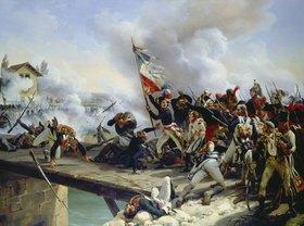 Emile Jean Horace Vernet: Die Schlacht an der Brücke von Arcole