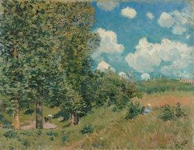 Alfred Sisley: Die Straße von Versailles nach Saint-Germain