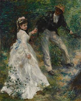 Auguste Renoir: La Promenade