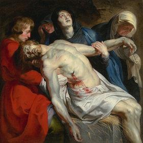 Peter Paul Rubens: Die Grablegung Christi