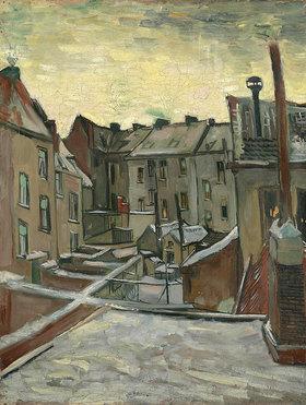 Vincent van Gogh: Hinterhöfe in Antwerpen