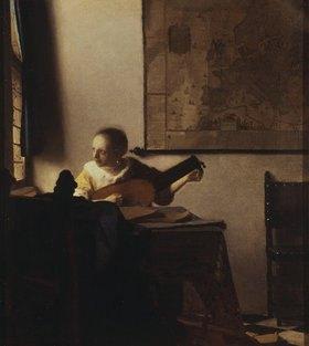 Jan Vermeer van Delft: Die Lautenspielerin am Fenster