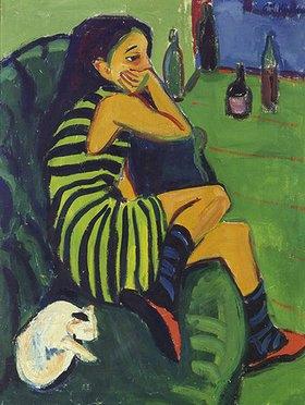 Ernst Ludwig Kirchner: Die Artistin