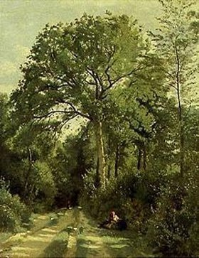 Jean-Baptiste Camille Corot: Waldeingang bei Ville d'Avray