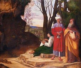 Giorgione (G.da Castelfranco): Die drei Philosophen