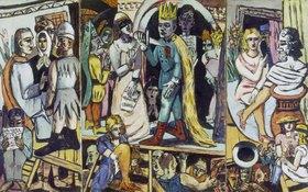 Max Beckmann: Triptychon: Die Schauspieler