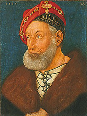 Hans Baldung (Grien): Bildnis des Markgrafen Christoph I. von Baden