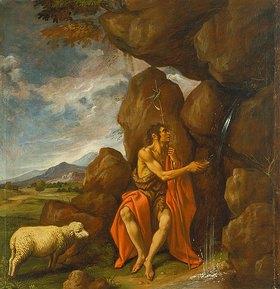 Pedro Orrente: Johannes der Täufer in der Wüste
