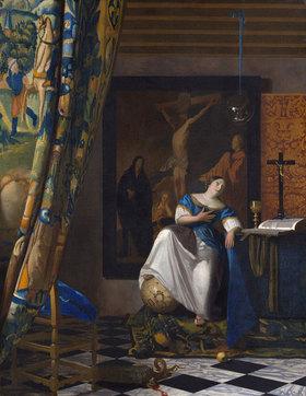 Jan Vermeer van Delft: Allegorie des Glaubens