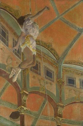 Edgar Degas: Miss La La im Zirkus Fernando