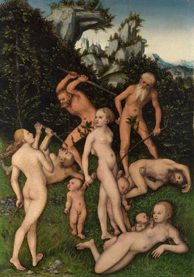 Lucas Cranach d.Ä.: Ende des silbernen Zeitalters (?)