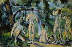 Paul Cézanne: Das Bad