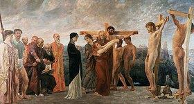 Max Klinger: Die Kreuzigung Christi