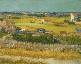 Vincent van Gogh: Die Ernte. Arles, Juni