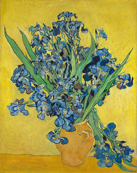 Vincent van Gogh: Irise. Saint-Rémy-de-Provence, May