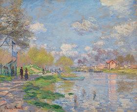 Claude Monet: Frühling an der Seine