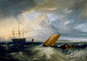 Joseph Mallord William Turner: Sheerness, von der Nore aus gesehen