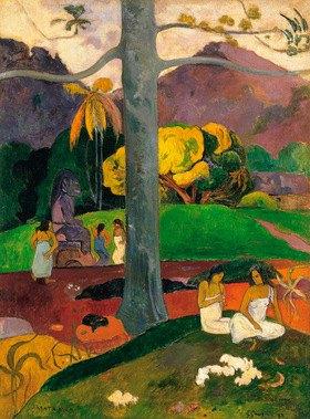 Paul Gauguin: Mata Mua. / Es war einmal