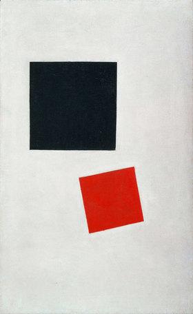 Kasimir Malewitsch: Malerischer Realismus. Junge mit Rucksack. Farbmassen in vierter Dimension