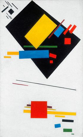 Kasimir Malewitsch: Suprematische Malerei (Schwarzes Trapez und Rotes Quadrat)