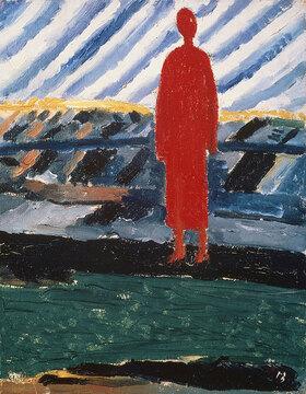Kasimir Malewitsch: Rote Figur