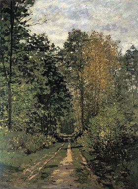 Claude Monet: Waldweg