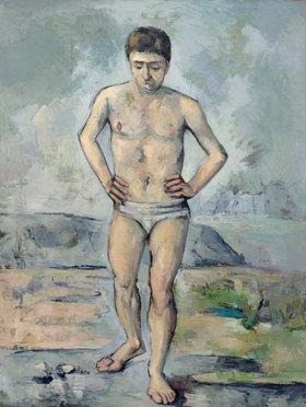 Paul Cézanne: Der Badende