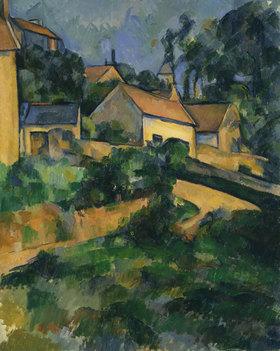 Paul Cézanne: Straßenkurve in Montgeroult