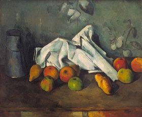 Paul Cézanne: Milchkanne und Äpfel