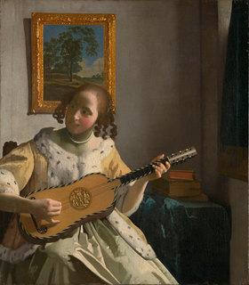 Jan Vermeer van Delft: Die Gitarrenspielerin