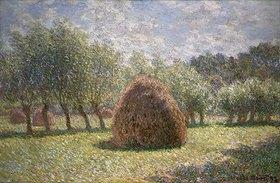 Claude Monet: Heuschober bei Giverny