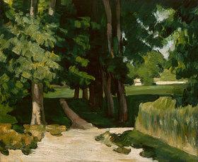 Paul Cézanne: Die Allee im Park von Jas de Bouffan